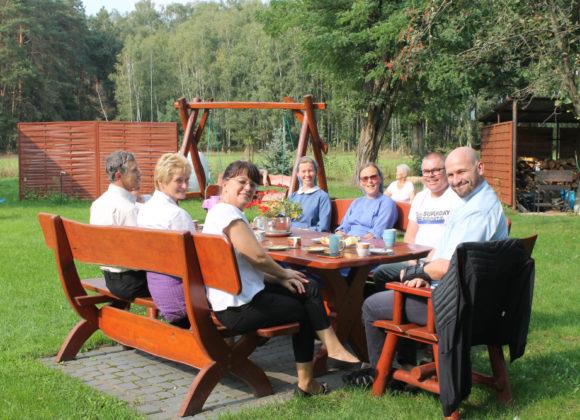 Spotkanie rodzin sióstr Uczennic Krzyża w Czmońcu