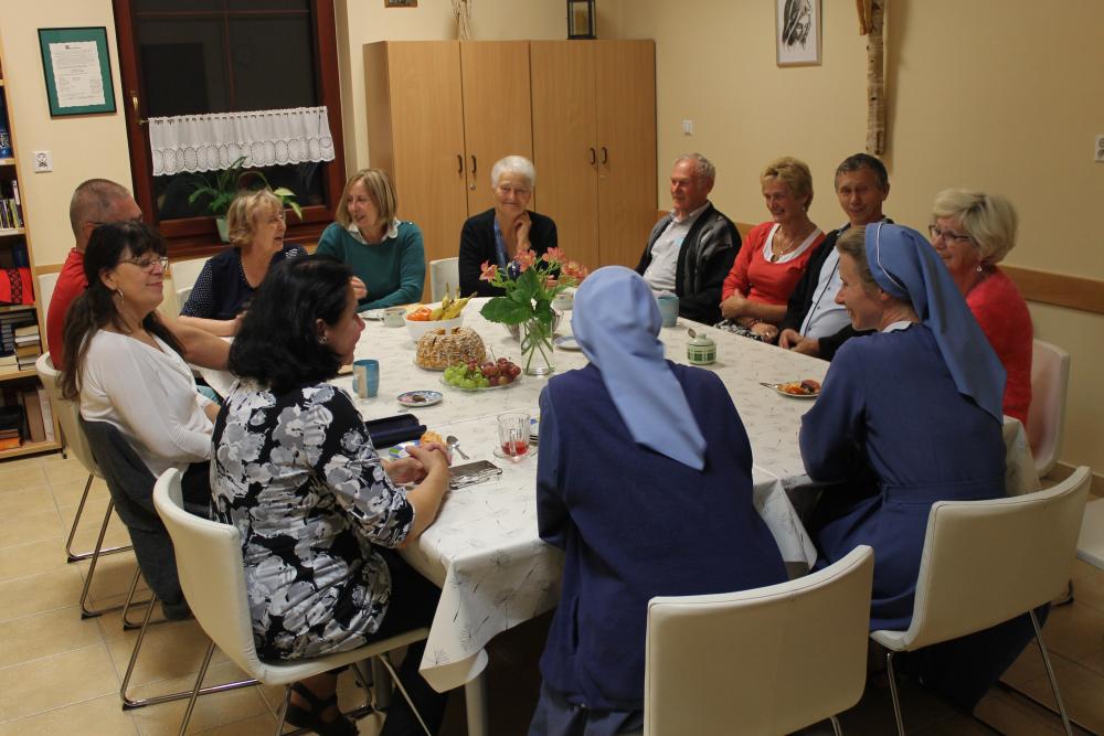 Rekolekcje dla rodzin Sióstr Uczennic Krzyża