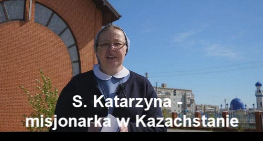 S. Katarzyna pozdrawia Wspólnotę Chorych i Wolontariuszy